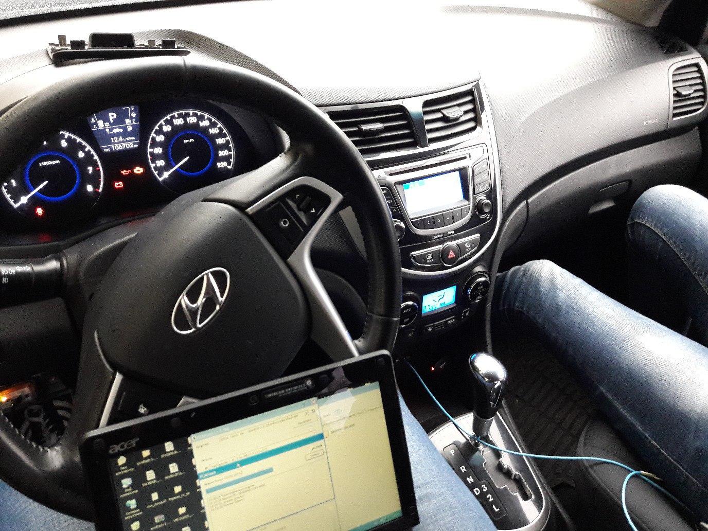 Чип-тюнинг своими руками. бортжурнал Hyundai Accent AT-5